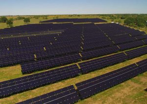 Local Sun Energy solar field arial view